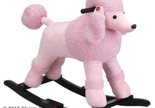 Charm Charm Baby Pink Poodle Rocker