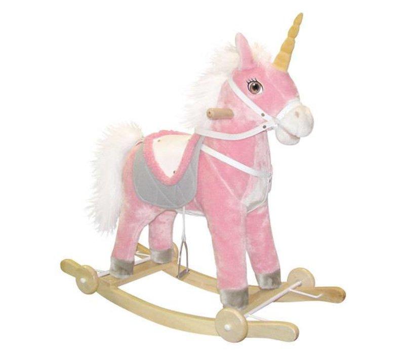 Charm Pink Unicorn Wheels/Rocker