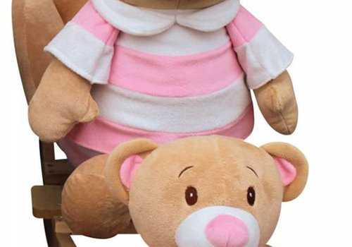 Charm Charm Teddy Bear  Rocker - Girl