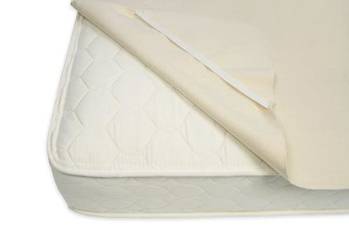 Naturepedic Naturepedic Organic Cotton Flannel Pad - Twin Size with Straps