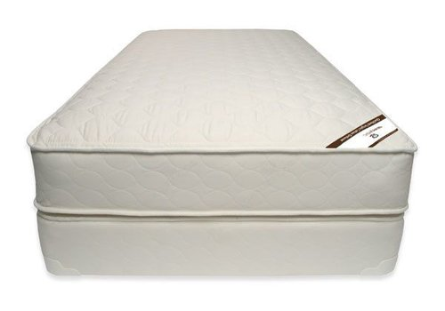Naturepedic Naturepedic Twin Size Mattress Quilted Organic Cotton Deluxe With Box Spring
