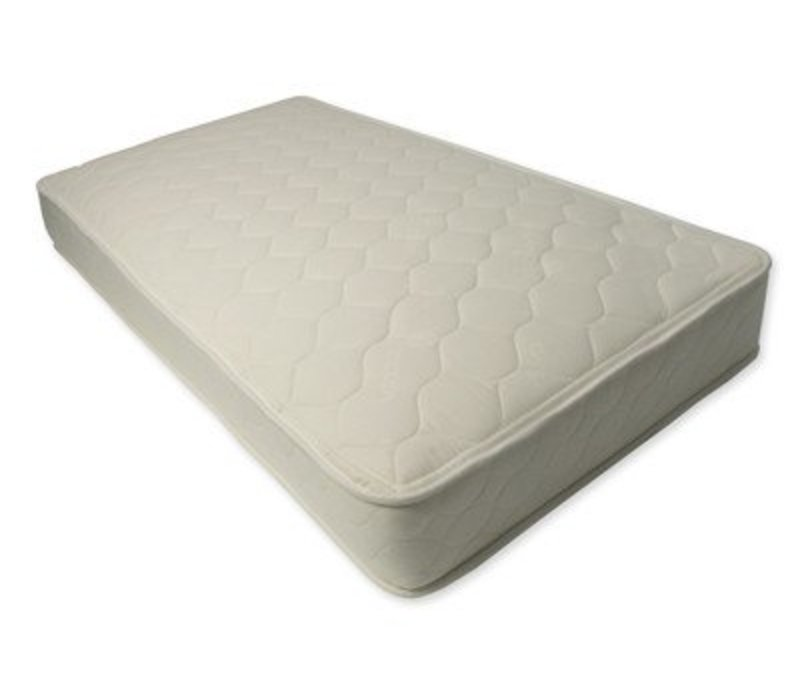 Naturepedic Two Sided Twin XL Size Mattress Quilted Organic Cotton Deluxe