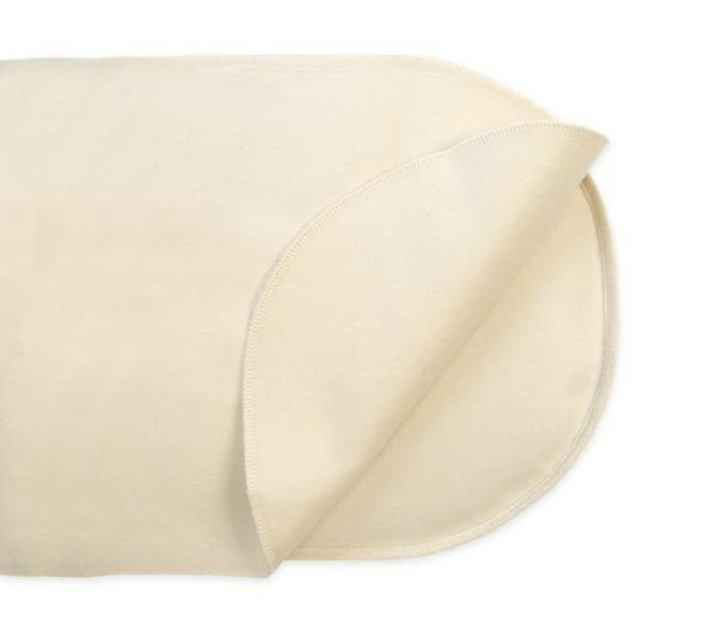 Naturepedic Organic Cotton Waterproof Protector Pad - Oval Bassinet Flat