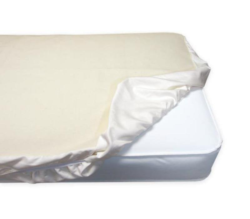 Naturepedic Non Waterproof Organic Cotton Flannel Pad - Crib Fitted
