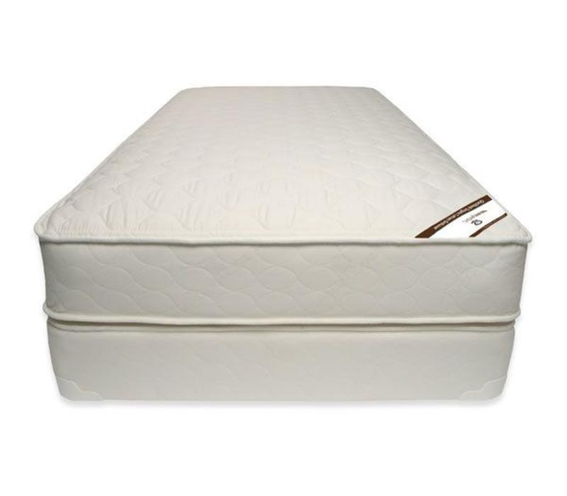 Naturepedic Queen Size Mattress Quilted Organic Cotton Deluxe With Box Spring
