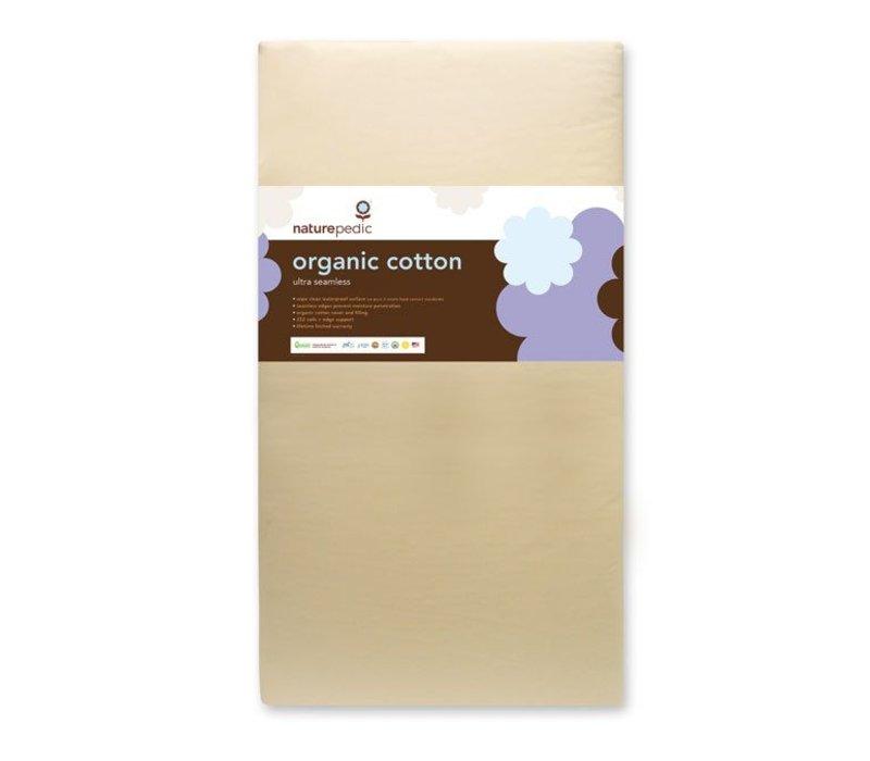 Naturepedic Crib Mattress Organic Cotton Ultra 252 Seamless