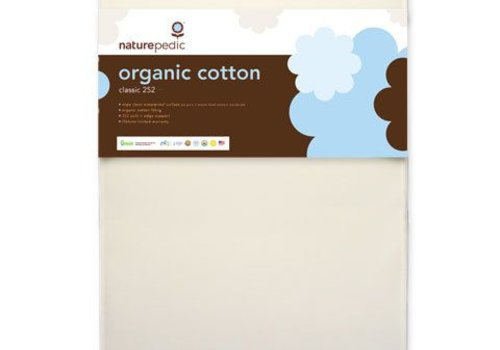 Naturepedic Naturepedic Crib Mattress Organic Cotton Classic 252 Coils