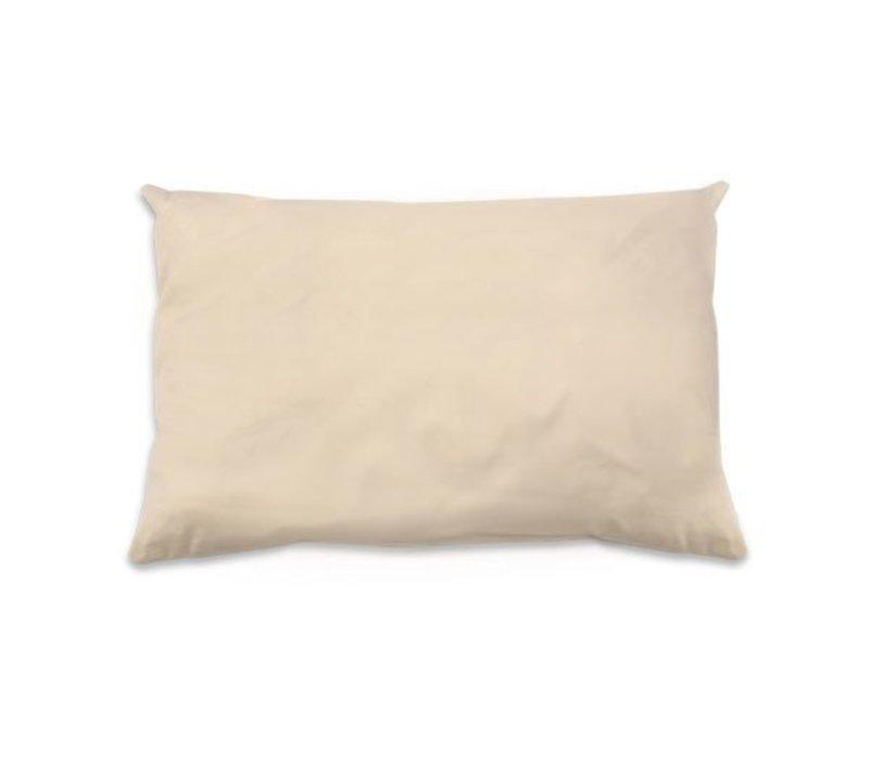 Naturepedic Organic Cotton/ PLA Standard Size Pillow (20x26) - Low Fill