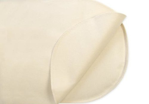 Naturepedic Naturepedic Non Waterproof Organic Cotton Flannel Pad - Crib Flat