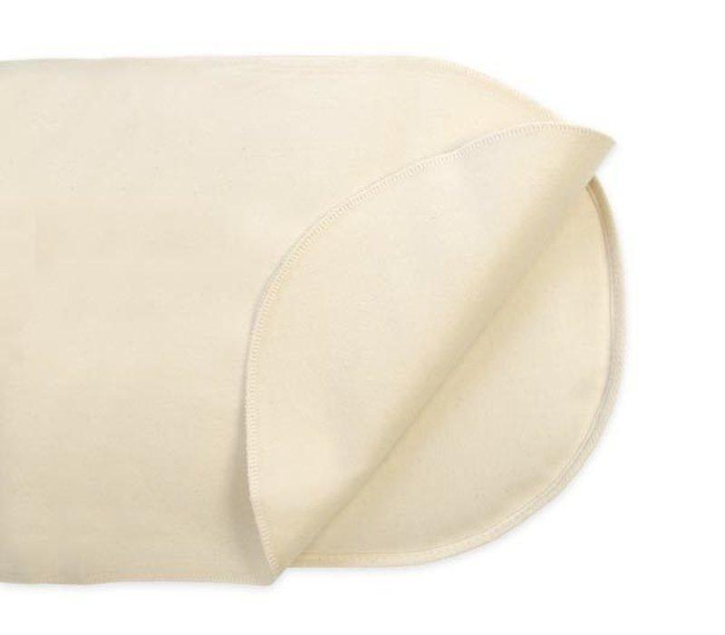 Naturepedic Non Waterproof Organic Cotton Flannel Pad - Crib Flat