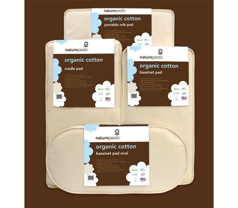 Naturepedic Organic Cotton Bassinet - Cradle Square