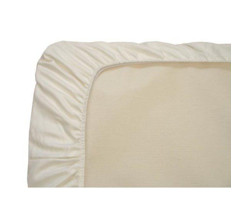 Naturepedic Organic Cotton Ivory Bassinet Sheet (1 Pack)