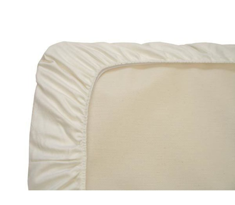 Naturepedic Organic Cotton Ivory Crib Sheet (1 Pack)
