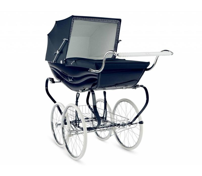 Silver Cross Balmoral Carriage In Navy