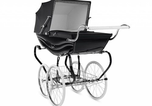 Silver Cross Silver Cross Balmoral Carriage In Black