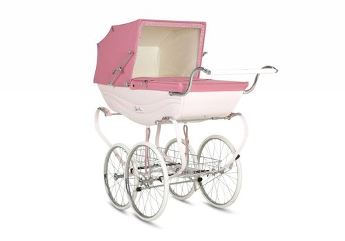Silver Cross Silver Cross Balmoral Carriage In Pink