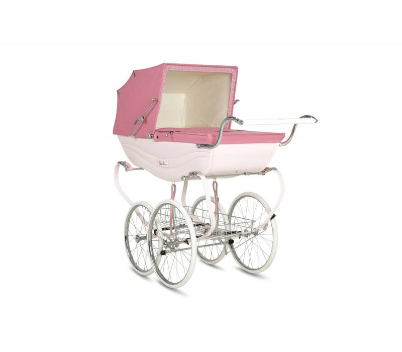 Silver Cross Balmoral Carriage In Pink