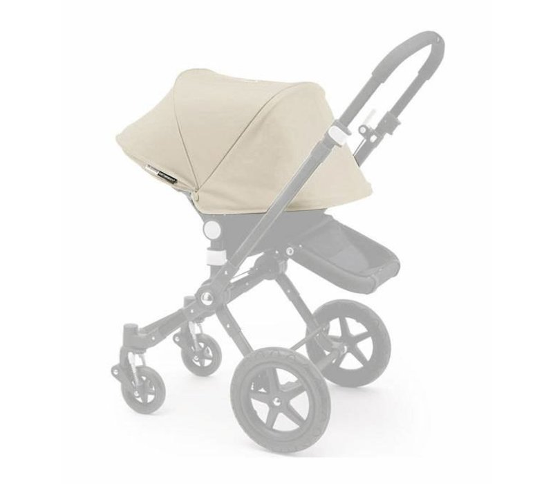 2017 Bugaboo Cameleon3 Tailored Set Extendable Sun Canopy In Off White