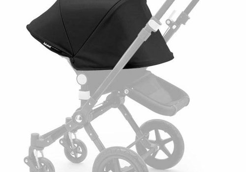 Bugaboo Bugaboo Cameleon3 Tailored Set Extendable Sun Canopy In Black