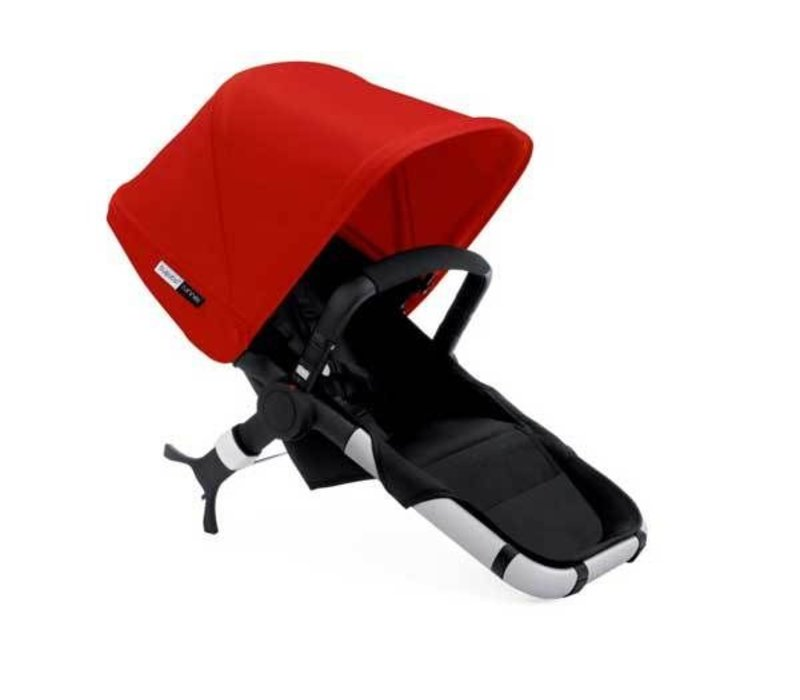 Bugaboo Runner Seat Includes Extendable Canopy In Black-Red