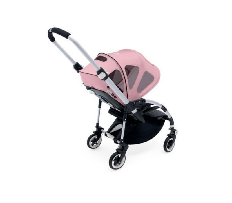Bugaboo Bee Breezy Sun Canopy In Soft Pink