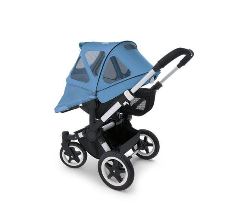 Bugaboo Donkey Breezy Sun Canopy In Ice Blue