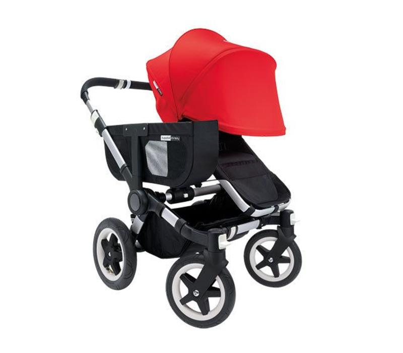 SALE!! Bugaboo Donkey Extended Sun Canopy In Red