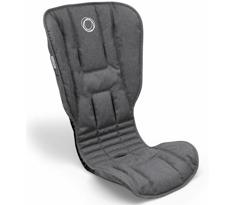 Bugaboo Bee5 Seat Fabric Grey Melange