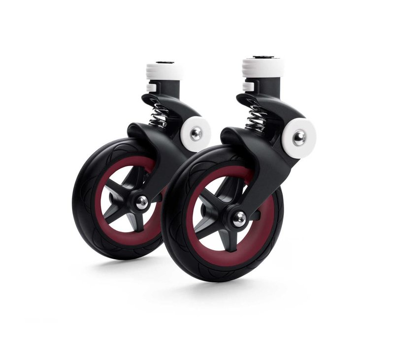 Bugaboo Bee5 Wheel caps In Dark Red