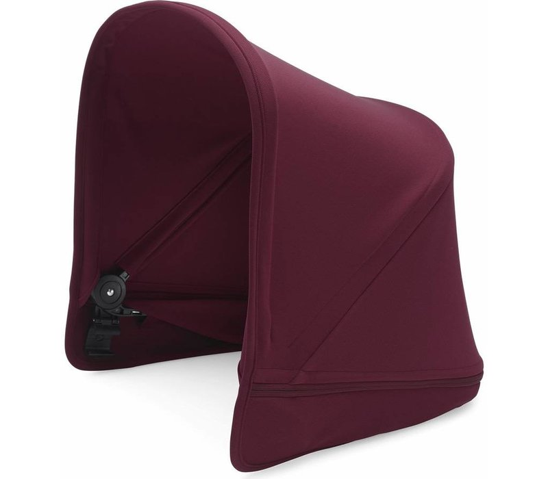 Bugaboo Donkey2 Extendable Sun Canopy In Ruby Red (BOX 3)