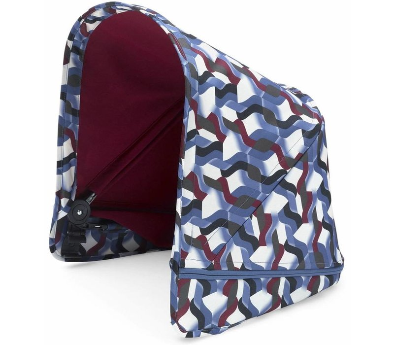 Bugaboo Donkey2 Breezy Sun Canopy In Waves (BOX 3)