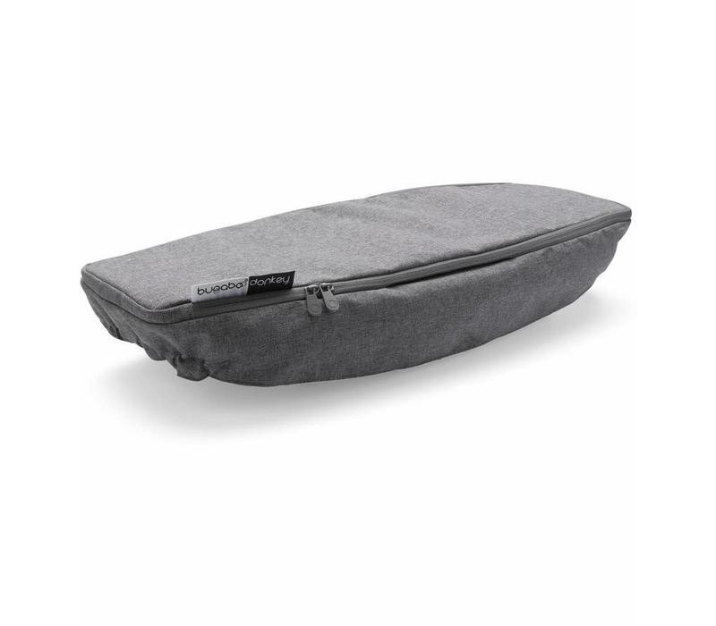 Bugaboo Donkey2 Side Luggage Basket Cover In Grey Melange  (BOX 4)