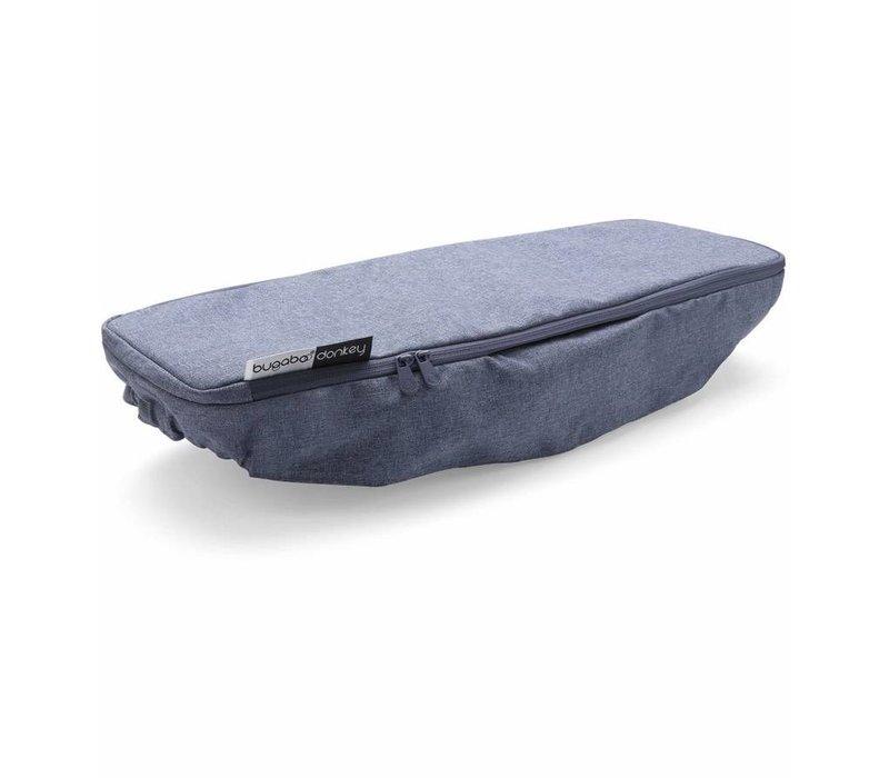 Bugaboo Donkey2 Side Luggage Basket Cover In Blue Melange (BOX 4)