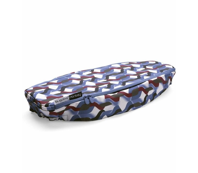 Bugaboo Donkey2 Side Luggage Basket Cover In Waves (BOX 4)