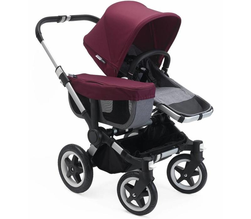 Bugaboo Donkey² Mono Complete Grey/Red