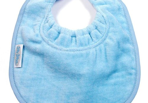 Silly Billyz SillY BillyZ Snuggly Toweling Biblet 0-2 Years In Sky Blue