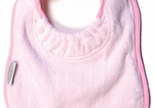 Silly Billyz SillY BillyZ Velour Plain Bib 6 Months - 3 Yrs In Pink