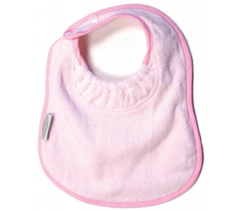 SillY BillyZ Velour Plain Bib 6 Months - 3 Yrs In Pink