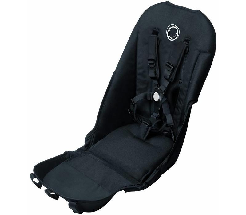 Bugaboo Donkey2 Seat Fabric In Black  (BOX 6)