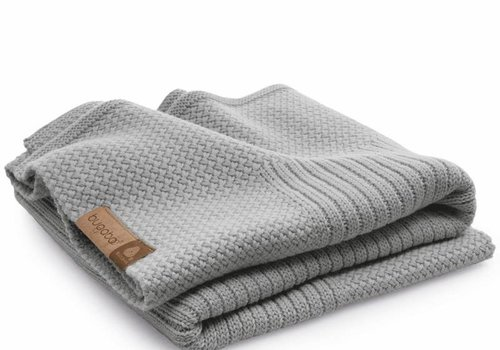 Bugaboo Bugaboo Wool Blanket 100% Extra Fine Merino Wool In Light Grey Melange