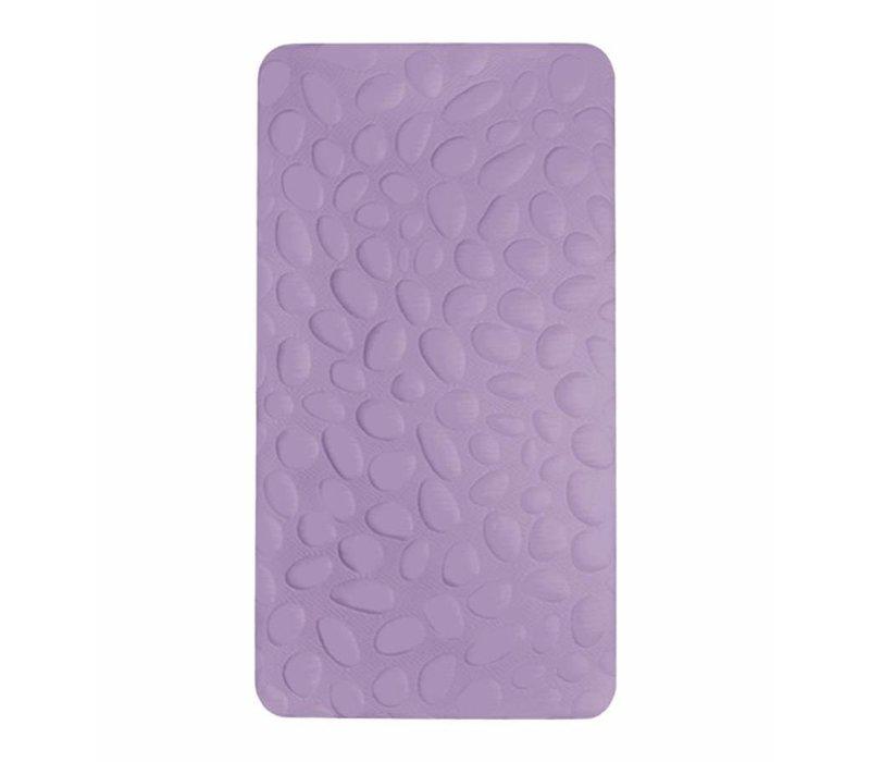 Nook Sleep Pebble Lite Crib Mattress In Lilac (Non-Toxic Foam)- 2 Stage