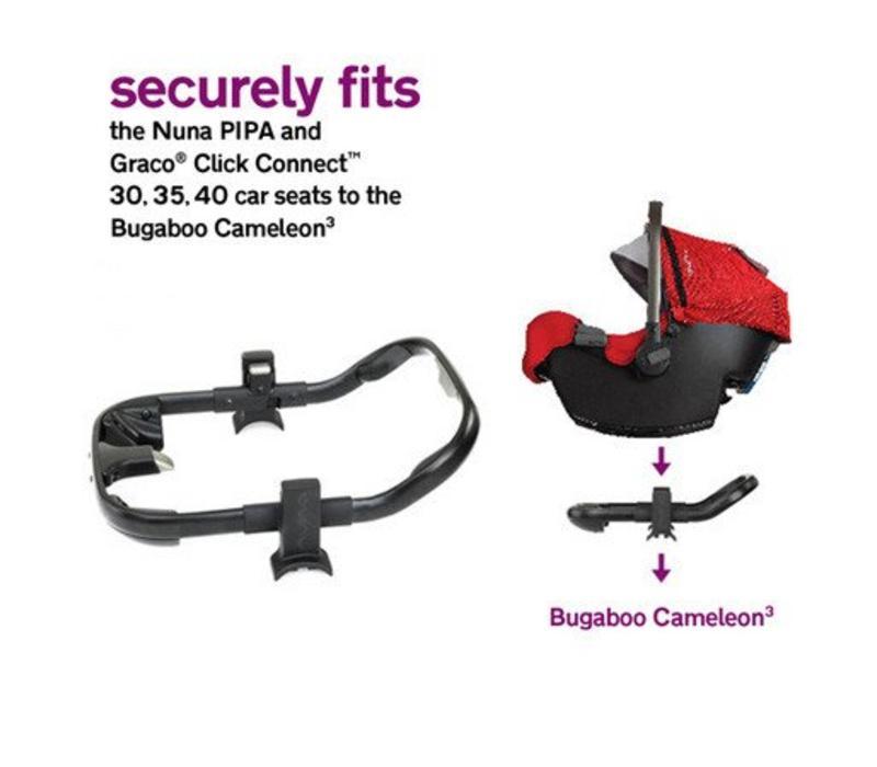 Nuna Pipa Car Seat Adaptor For Bugaboo Cameleon3 Stroller