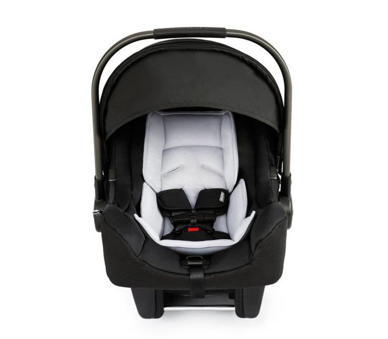 Nuna Pipa Infant Car Seat In Night With Base