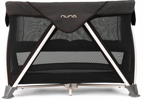 Nuna Nuna Sena Aire Pack and Play Playard Travel Crib With Bassinet In Suited