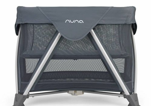 Nuna Nuna Sena Mini Aire Travel Crib In Graphite