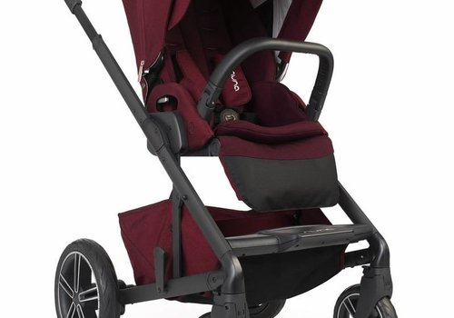 Nuna Nuna Mixx2 Stroller In Berry + Rain Cover + Adaptors