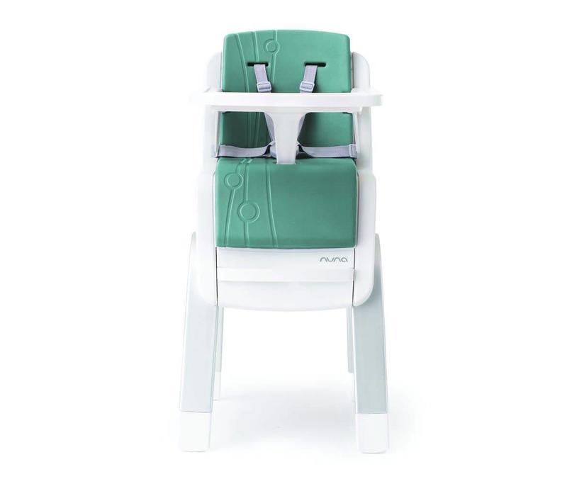 Nuna Zaaz Infant to Adult High Chair In Jade