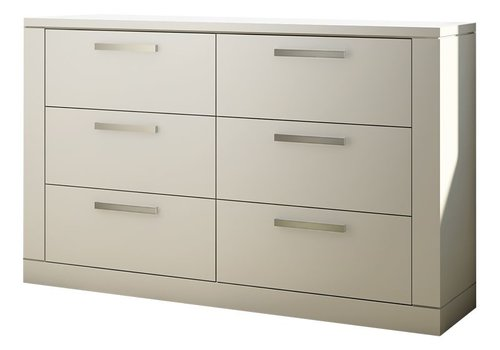 Nest Juvenile Nest Milano  Drawer Double Dresser In White