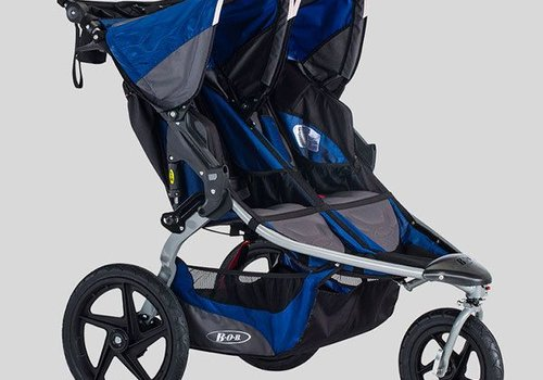 BOB 2018 BOB Stroller Strides Fitness Duallie Polymer Wheels In Blue
