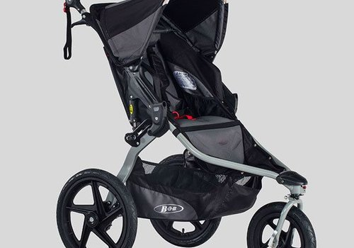 BOB 2018 BOB Revolution Flex Stroller In Black-Black